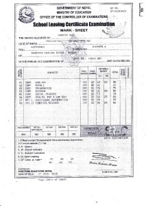Sandeep Certificate