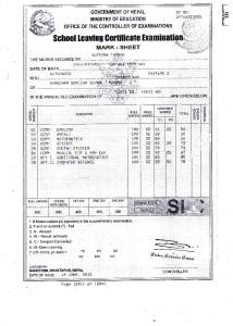 Suprina Certificate