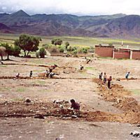 Proyectos hidráulicos en Tíbet/China