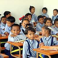 Escuela Gangchen Samling, Nepal