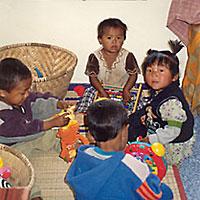 I bambini in Nepal